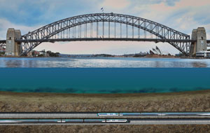 Tunnel for Metro under Sydney Harbour complete