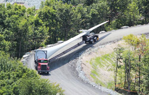 Transporting turbines now a breeze