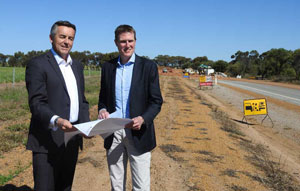 The Australian Government has signed off on its $44.2 million contribution to the $55.25 million WA Regional Road Safety Package, which applies to 16 projects and will be rolled out over the next four years.