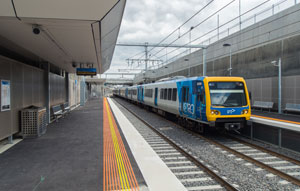 Level crossing removal works ramp up for Frankston Line