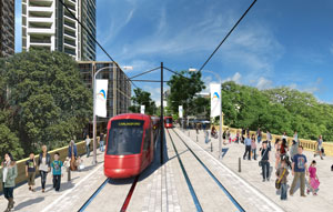 The first stage of the Parramatta Light Rail, from Westmead to Carlingford, has received planning approval with construction set to begin within months.