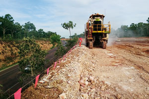 Global Surface Mining is using mining technology and applying it to a number of civil construction projects to avoid expensive drilling and blasting.