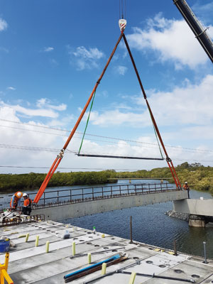 A precast concrete solution from National Precast member Stresscrete proved an effective alternative on a major network connection for Queensland's Port of Mackay.
