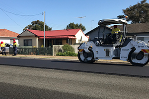 Downer builds NSW's first road made from recycled plastics