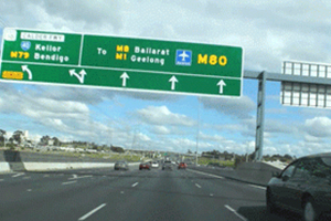 Contractors begin early works on two major Melbourne freeways