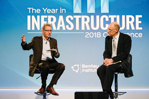 Advancing infrastructure: highlights from Bentley Systems' 2018 YII