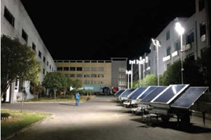 AllightSykes launches new solar lighting tower