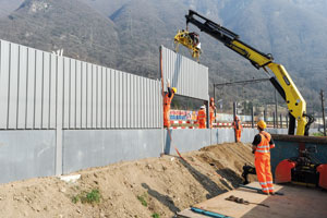 Silence is golden: the benefits of using precast concrete for noise barriers