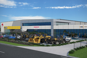 Australian machinery distributor Construction Equipment Australia has committed to a 12-year lease on the new state-of-the-art facility in Leppington, south-west Sydney, within the Bringelly Business Hub.