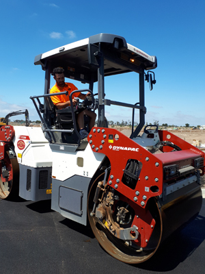 To ensure it purchases reliable, efficient and most of all safe construction equipment for its crews, Alex Fraser puts prospective machines through their paces. Its latest roller – the Dynapac CC2200 Double Drum Roller – hits the mark.