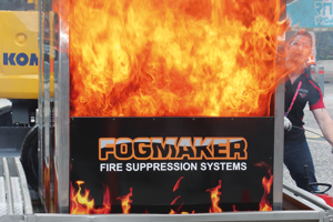 How effective are your fire suppressant systems?