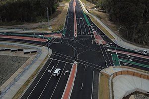 Geelong recycled roundabout