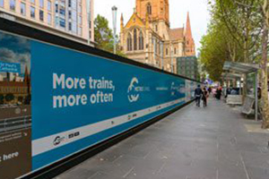Victorian Premier announces schedule for public transport works