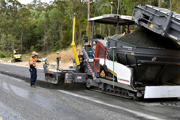 Foamed bitumen on the Ballina Pacific Highway