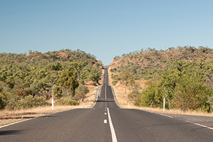 Safety boost for narrow Dunkeld-Cavendish Road Victoria