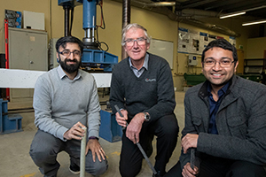 Deakin researchers design maintenance-free bridge