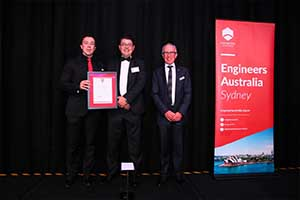 Academic wins John Holland Civil Engineer of the Year award