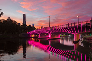 Engineering excellence recognition for Melbourne's Swan Street bridge
