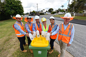 Redlands Coast uses recycled waste for new roads