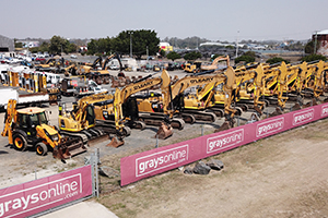 Over $5M worth of civil and earthmoving equipment to be auctioned online