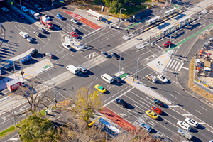 Major contractor completes Hoddle Street upgrades