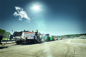Leading from the front: Wirtgen