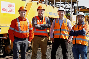 Major contractor awarded North East rail line upgrade