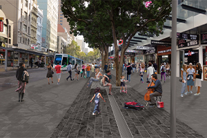 Designs released for Elizabeth Street upgrade