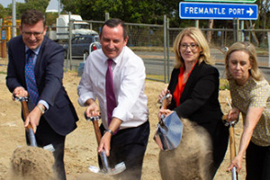 Major contractor begins $118M Fremantle intersection upgrade