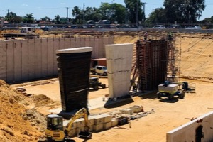 Contractor progresses construction of Kalamunda Road bridge