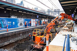 Central Station construction underway for Sydney Metro
