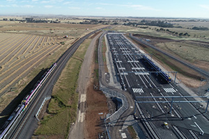 Construction complete at Wyndham Vale stabling yard