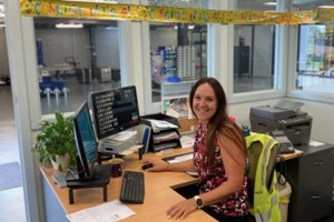 Michelle Pepperall celebrates 20 years at Nova Crane Services