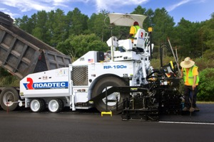 Smooth running asphalt with Astec