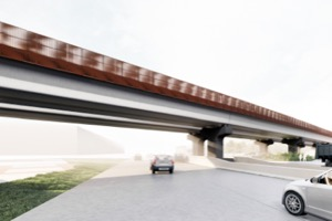 Designs for Greens Road Rail Bridge in VIC updated
