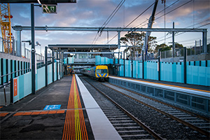 Frankston Line trains resume as construction progresses on $3B upgrades