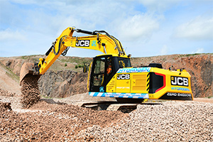 Major equipment supplier releases hydrogen fuelled excavator
