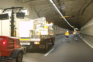 Deputy PM, NSW Premier and NSW Transport Minister tour M5 tunnels