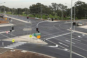 Thompsons Road $225M upgrade finished four months ahead of schedule
