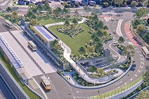 Victoria's first $69M green roof park and ride facility fast tracked