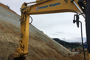 How Fulton Hogan applied innovative technology to stabilise hazardous rock face