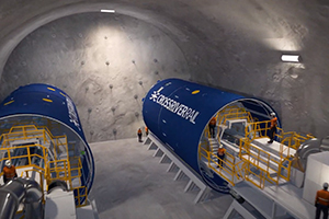 First Cross River Rail tunnel boring machine launched