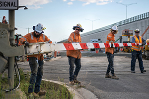 Works progress on more than 20 Melbourne level crossing removals