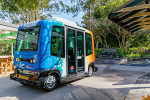 Coffs Harbour, NSW hosts world first automated bus trial