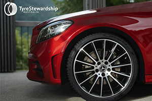 Mercedes-Benz Australia partners with Tyre Stewardship Australia