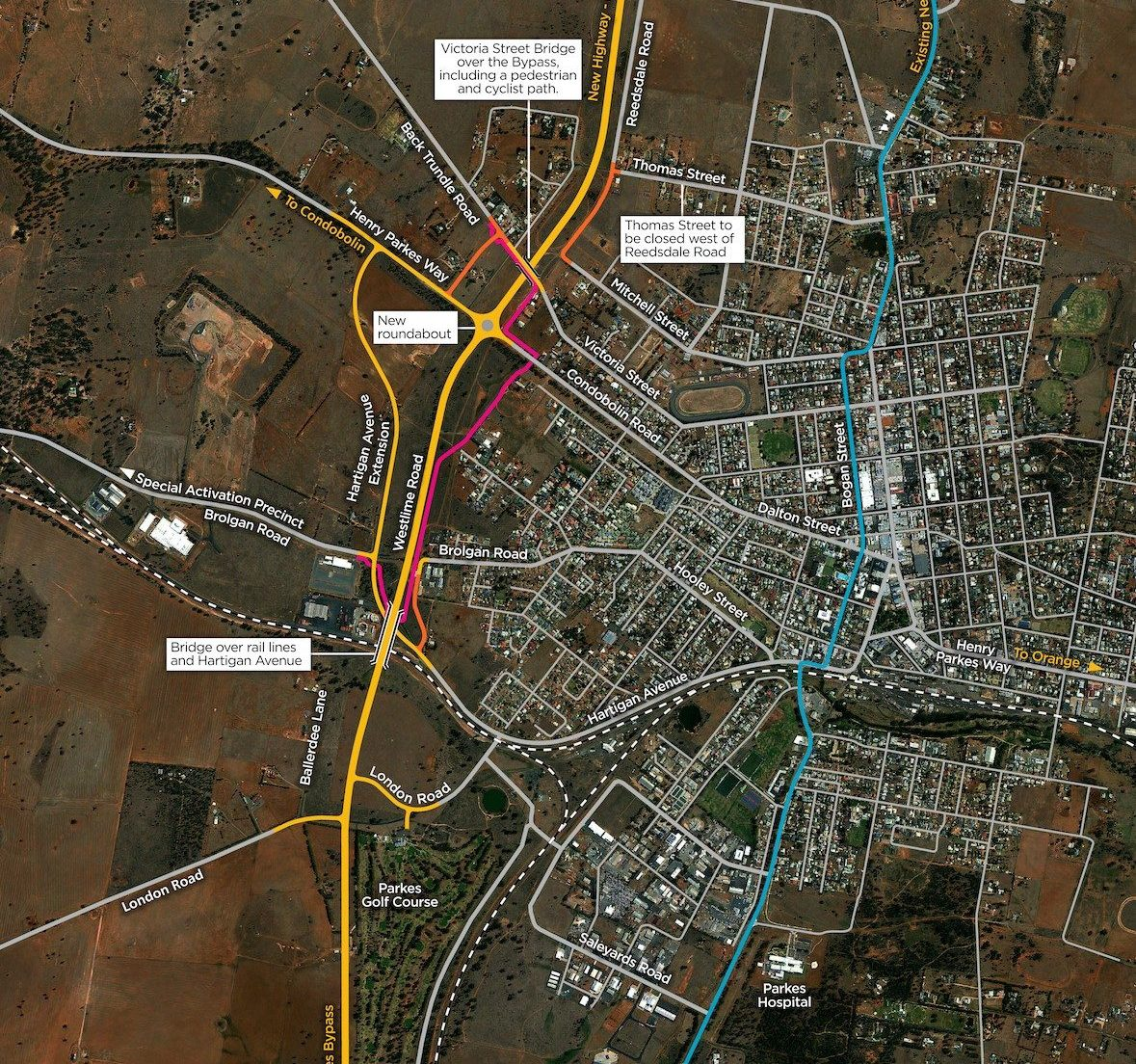 Forum call to local contractors for $187.2M Parkes Bypass