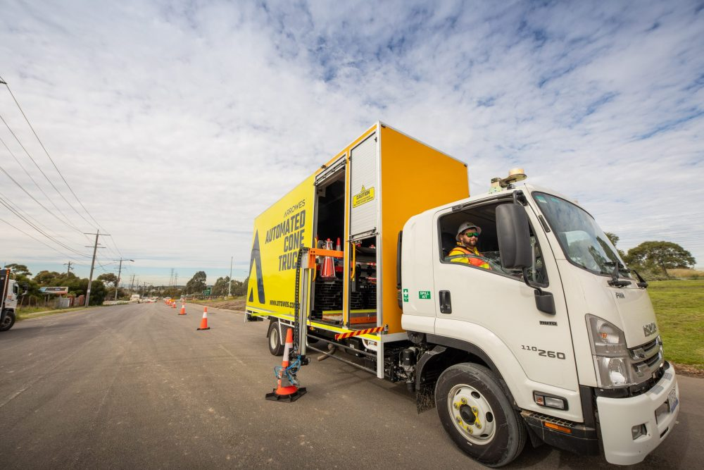 MRPV trials new road safety equipment on M80 upgrade project