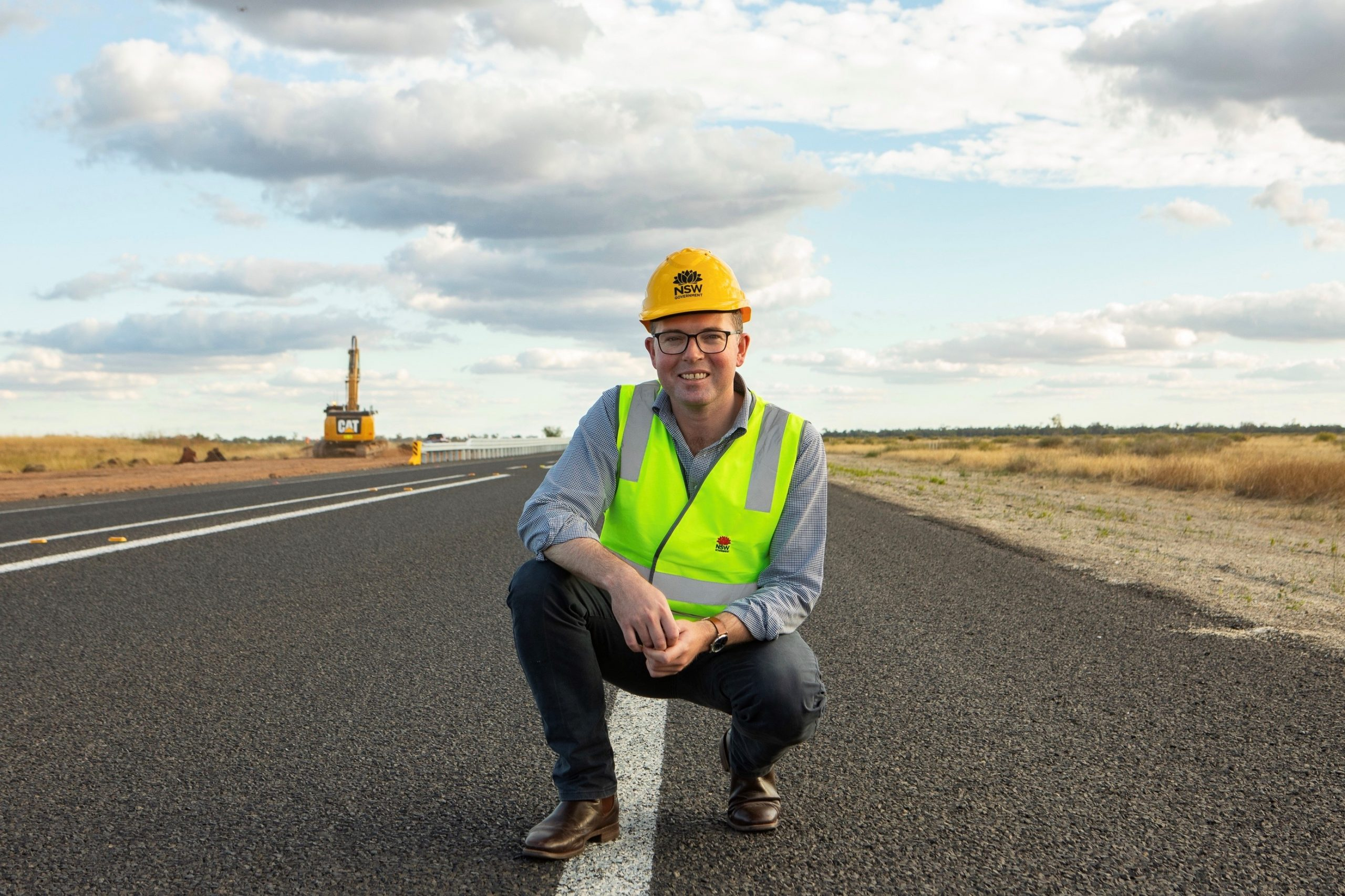 New England Highway safety project commences