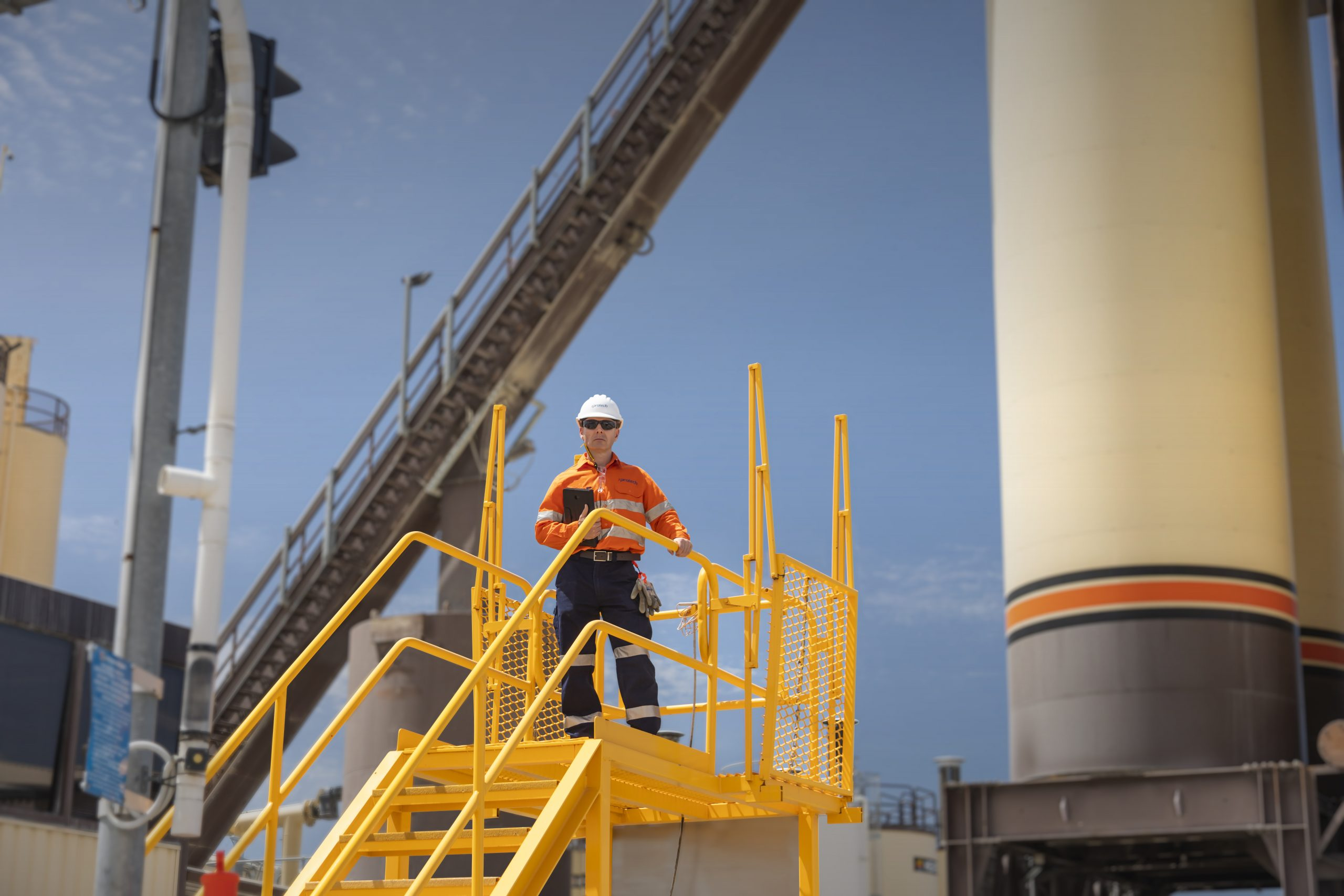 Protech focuses on a safe working environment for all