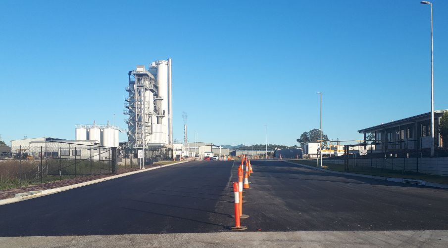Downer QLD asphalt plant approaches commissioning